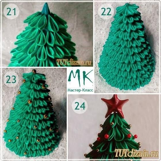елки из подручных материалов