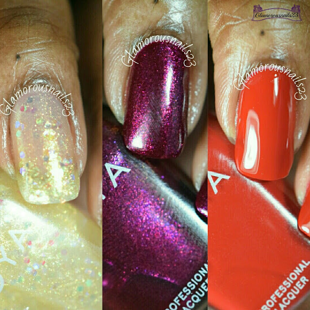 Zoya Redbook Holiday 2015 Trio