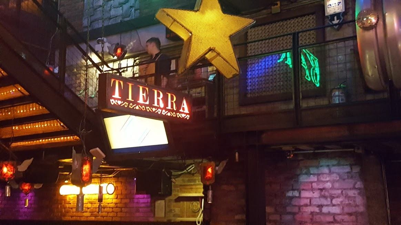 Ambiente Tierra no restaurante Andres Carnes Des Res na Zona T - Bogotá