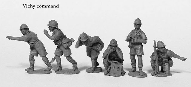 Wargame News and Terrain: Perry Miniatures: New Vichy