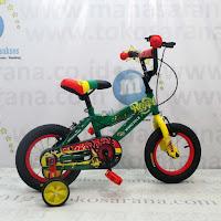 Sepeda Anak Wimcycle Reggae 12 Inci