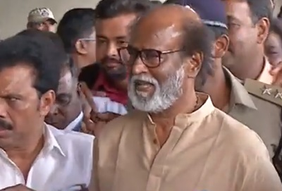 The petition filed against actor Rajinikanth