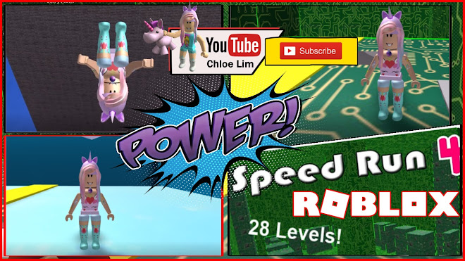 Chloe Tuber Roblox Speed Run 4 Gameplay Part 1 Watch Out For