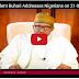 LIVE UPDATES: President Buhari addressing Nigerians today, August 21  (Full Story)