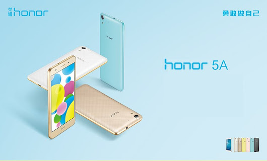 Harga Huawei Honor 5A, HP 5,5 Inci 720p Lollipop