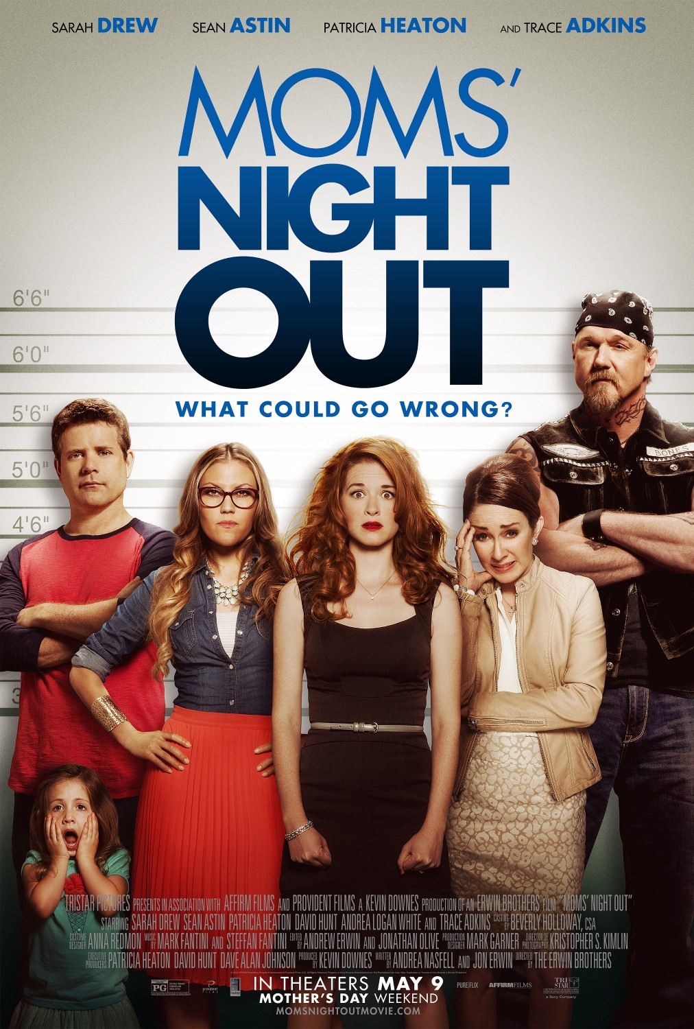 HABLANDO DE CINE: «MOM'S NIGHT OUT» UNA COMEDIA SIN MULETILLA