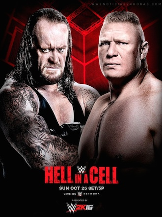 WWE Hell In A Cell 2015 PPV