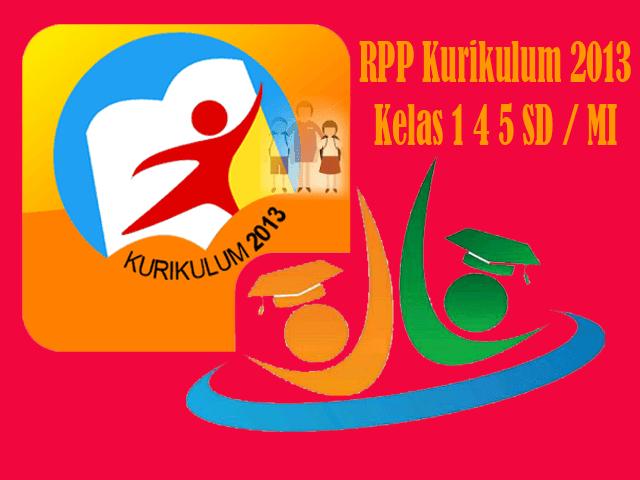 Contoh RPP Kelas 1 4 5 SD/MI Kurikulum 2013 Format Words
