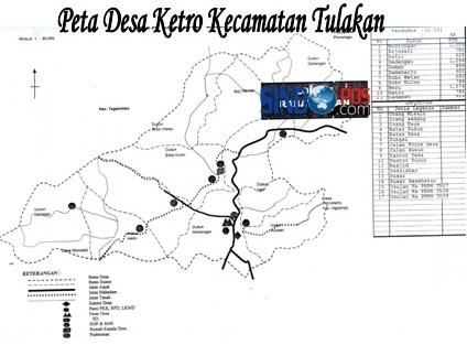 Profil Desa & Kelurahan, Desa Ketro Kecamatan Tulakan Kabupaten Pacitan