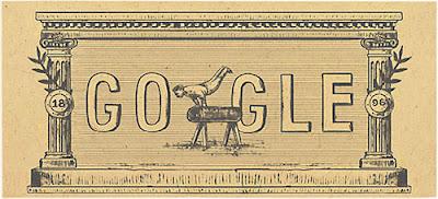 Google Doodle Peringati Ulang Tahun Olimpiade