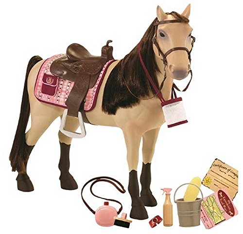 Sophias 18 Inch Doll 4 Pc 18 Inch Doll Outfit Set of Graphic Horse Doll Tee Riding Lesson Outfit Perfect for The American Horse Riding Girl Riding Boots /& Helmet Leggings 4pc Riding Outfit