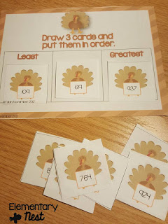 Place Value activities- November Resources and two FREEBIES to use in November for primary classrooms- fall activities