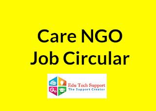 Care Bangladesh NGO JOb Circular 2019