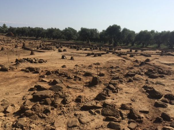 Roadworks reveal ancient city in Western Greece
