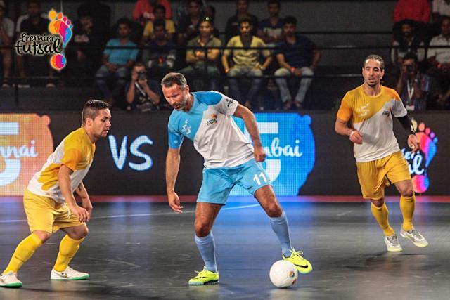 Ryan Giggs - Mumbai 5's - Premier Futsal League
