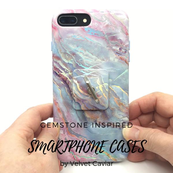 the best attitude 6f6c9 94427 Gemstone Inspired Velvet Caviar Smartphone Cases - The Beading Gem's ...