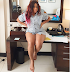 Actress Moyo Lawal & her thick thighs take a sexy pose
