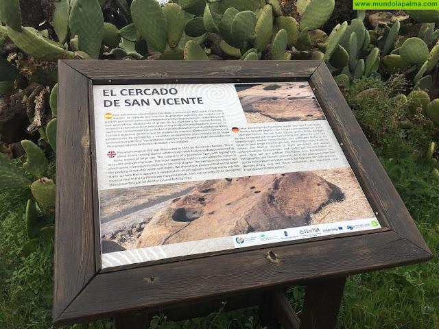 Subsanado los errores en los paneles de Grabados de El Calvario y Cercado de Vicente