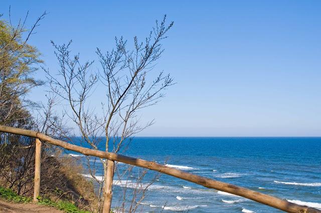 klify, nabrzeże Jastrzębia Góra, morze