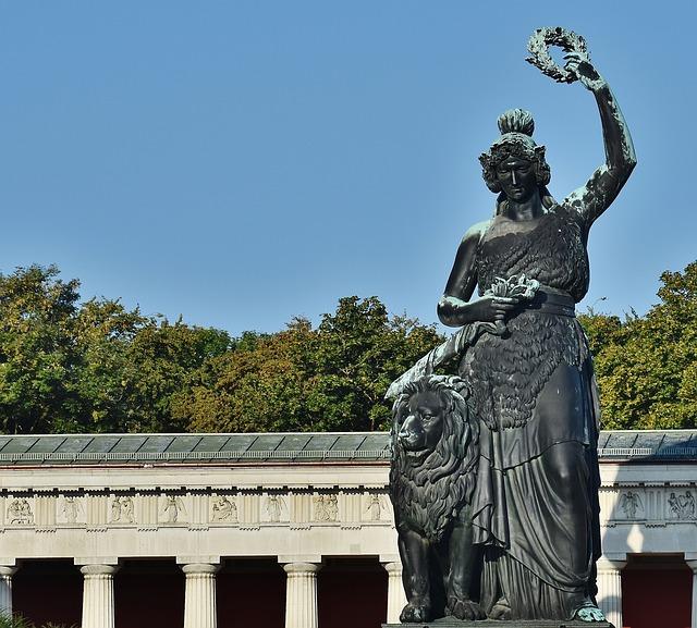 Bavaria Statue, Bavaria Statue Munich, Bavaria Statue Munich Germany,