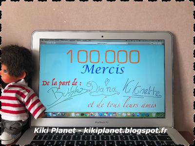 100000 visites, blog, kiki Planet,bubbles, diana, kikinette, meilleur blog