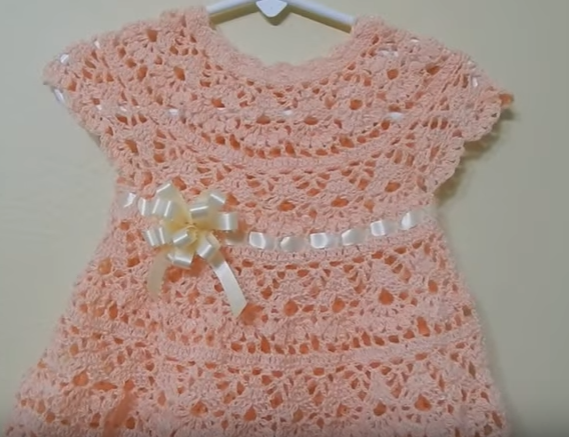How to make crochet dress with pattern - Tutorial 1 ...
