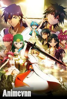 Magi The Labyrinth Of Magic - Magi Season 1 2012 Poster
