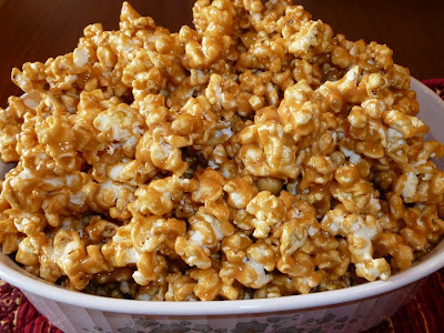 Yummy Peanut Butter Popcorn
