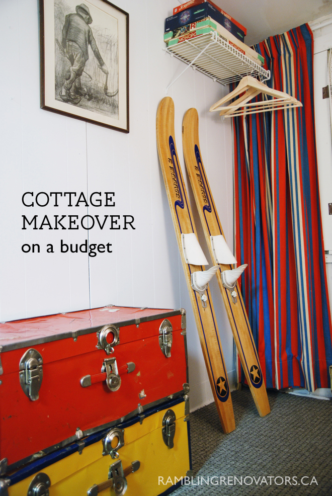 cottage makeover on a budget