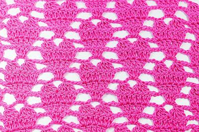 2 - Crochet IMAGEN Punto de corazón a crochet y ganchillo. MAJOVEL CROCHET