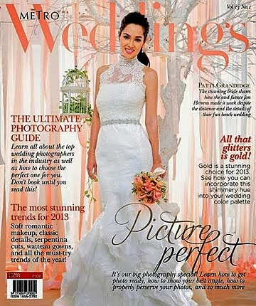 PRESS FEATURE: METRO WEDDINGS