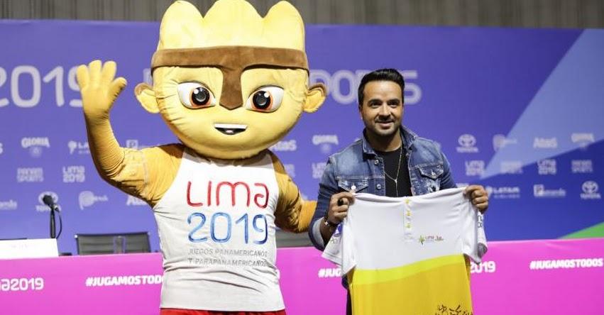 LUIS FONSI EN PERÚ: «Es un gran honor estar en la inauguración de los Juegos Panamericanos» Lima 2019 [VIDEO]