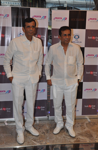 Director duo Abbas-Mastan at the launch of Mukta A2 New Excelsior Cinema