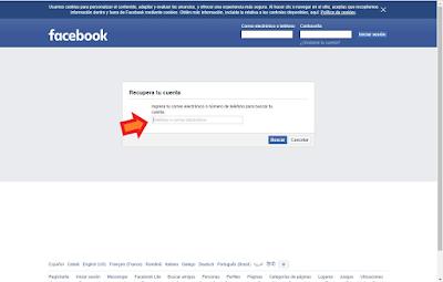 pagina-olvido-contraseña-facebook