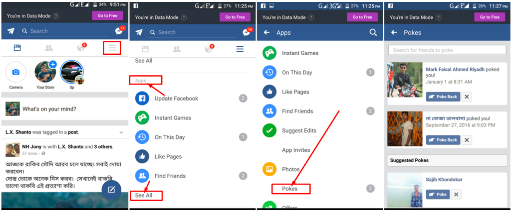 How to See Pokes On Facebook | How See Who Poked Me – My Facebook Poke Page