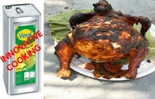 WOW! INNOVATIVE COOKING | FULL CHICKEN TANDOORI WITHOUT OVEN | VILLAGE FOOD
