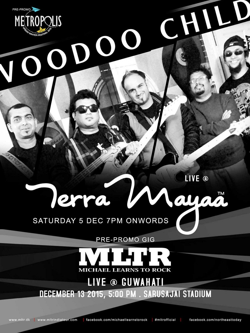 Voodoo Child at Terra Mayaa Guwahati