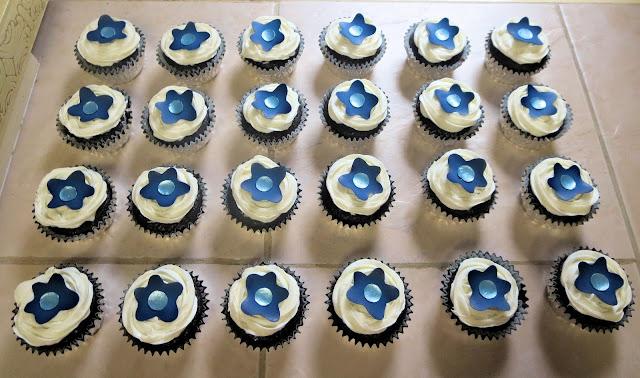 Funky Flower Cupcakes 1
