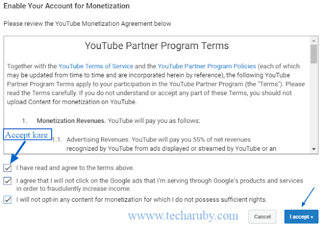 youtube partner programme term