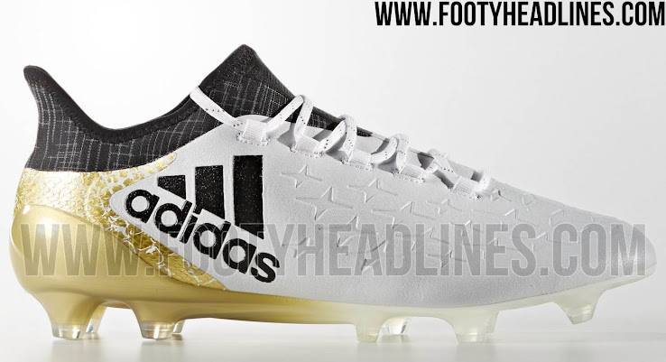 736f54d5d735 White / Gold Adidas X Stellar Pack 2016-2017 Boots Released - Sports ...