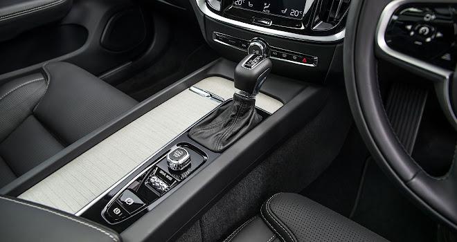 Volvo V60 centre console