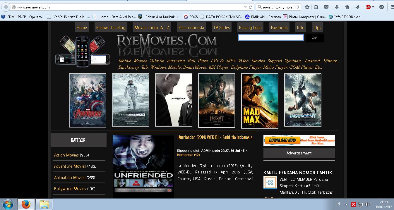 Website Download Film Subtitle Indonesia