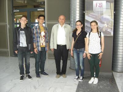 Το Γυμνάσιο Περίστασης στο 8ο Μαθητικό Συνέδριο Πληροφορικής Κεντρικής Μακεδονίας
