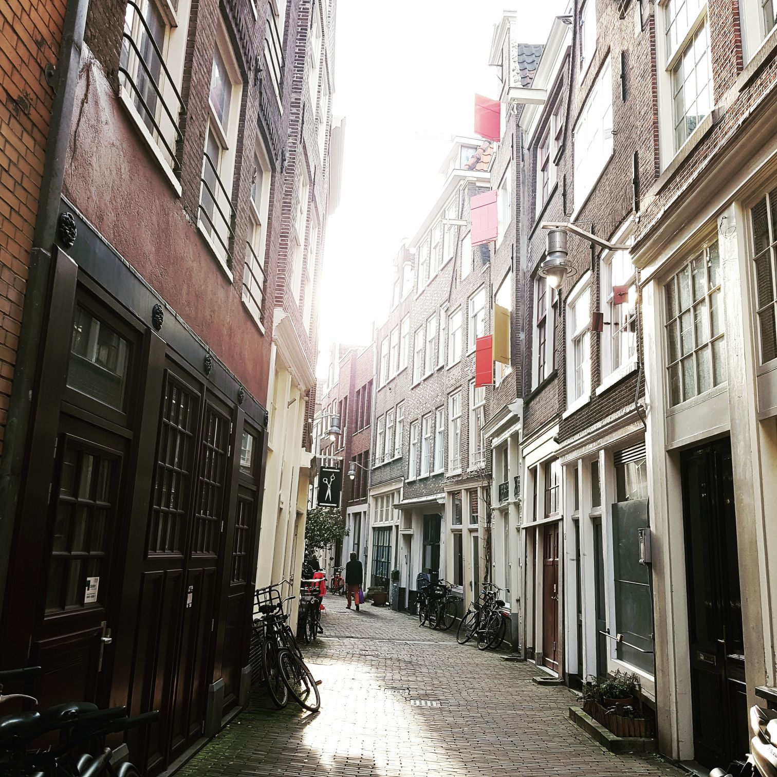 Alleys in Amsterdam
