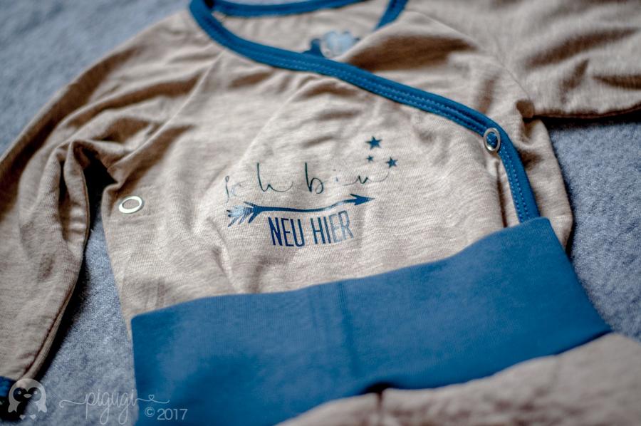 pigugi Florian Babyset SweatStepp Klimperklein nachtblau