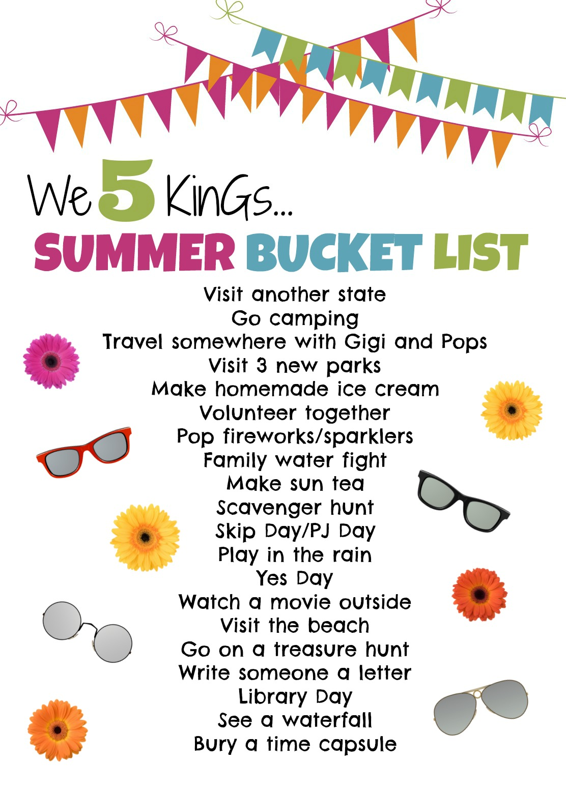 the queen of the kings spiel the beans summer bucket list