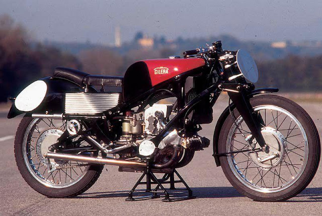 Gilera Rondine Supercharged 500-4 Motorcycle