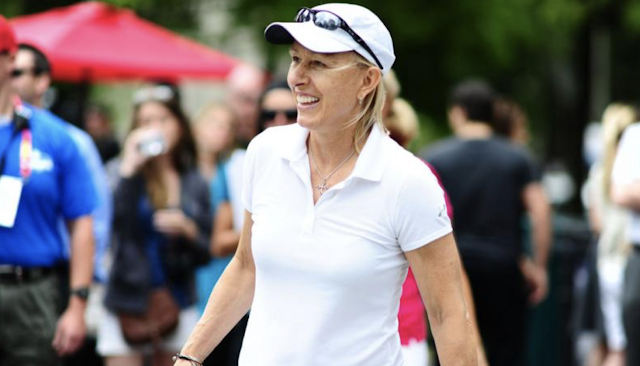 LGBTQ group kicks out tennis legend Martina Navratilova for opposing trans men competing with women