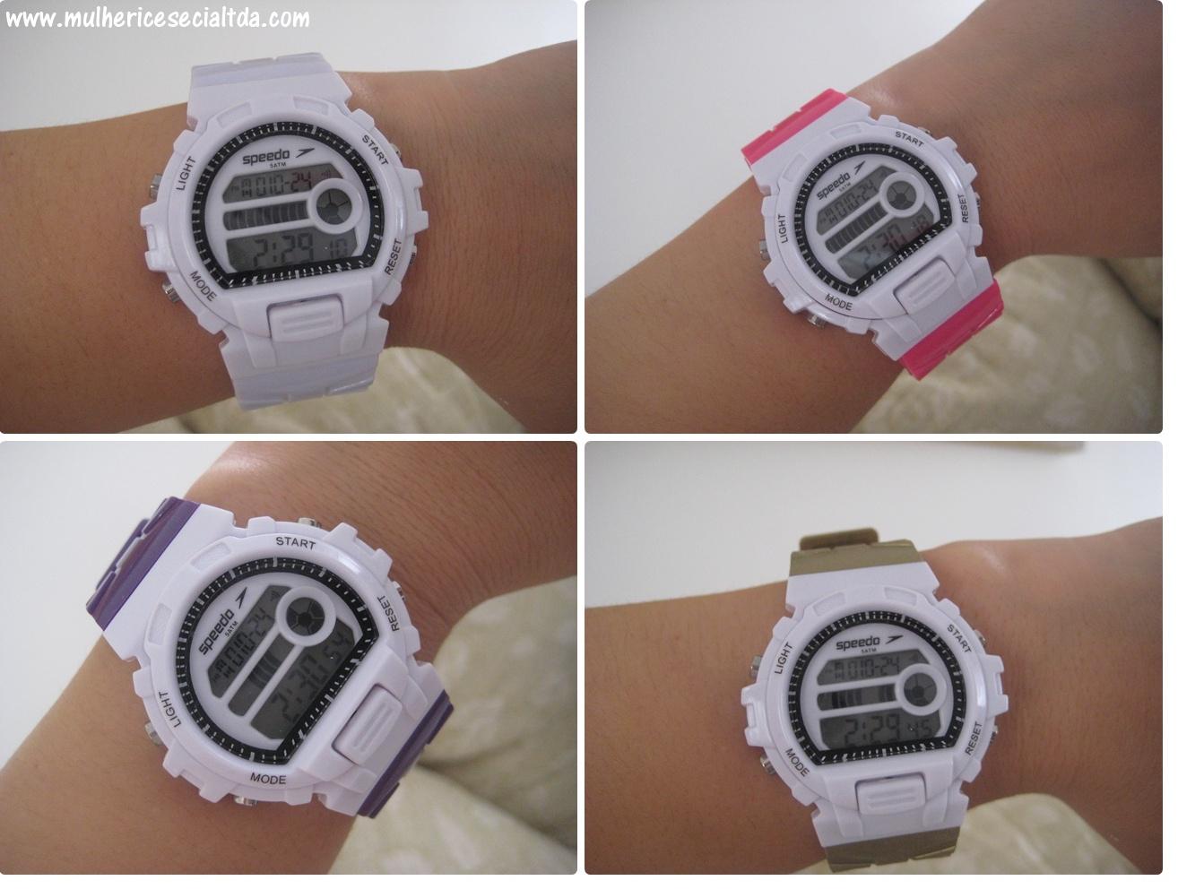2d30b6fde50 O relógio Speedo Loop é super bacana porque além de trocar as pulseiras  (existem mais de 5 kits diferentes de coresde pulseiras)