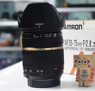 Jual Lensa Tamron 28-75mm f2.8 for Nikon Bekas